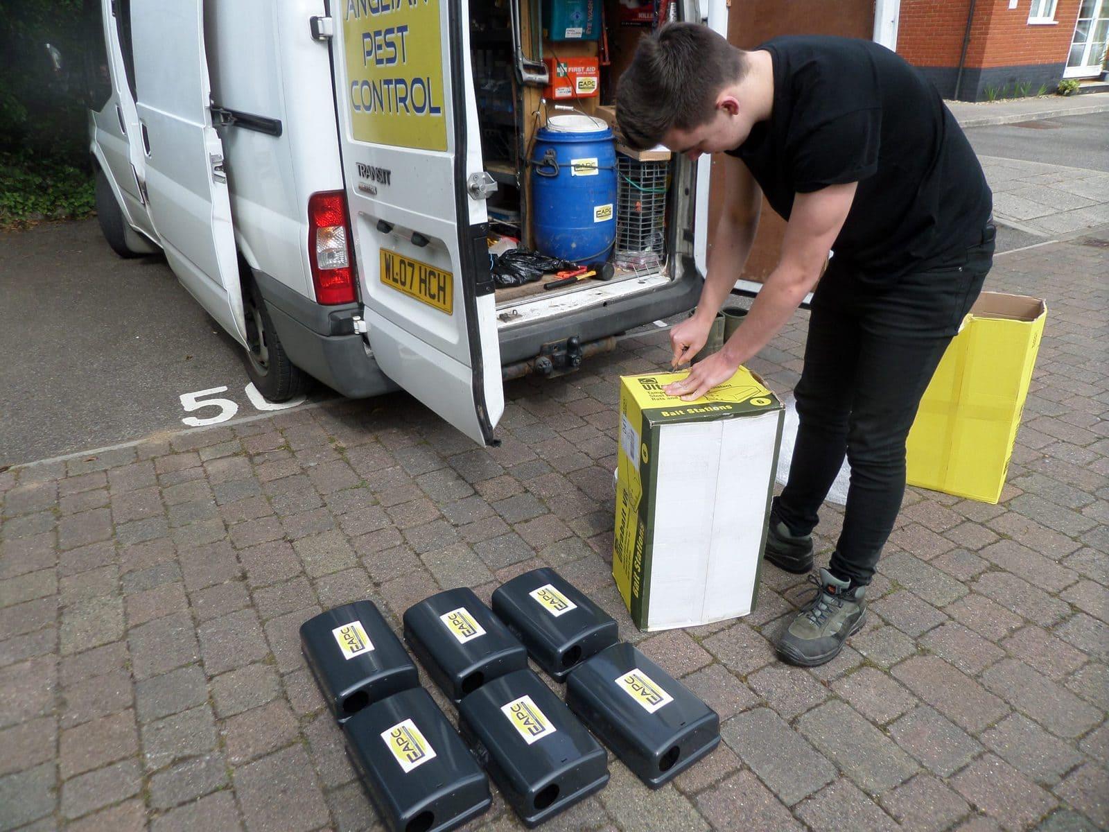 rat removal Suffolk